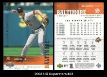 2003 UD Superstars #23