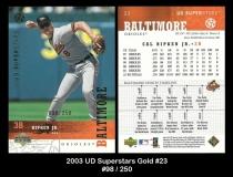 2003 UD Superstars Gold #23