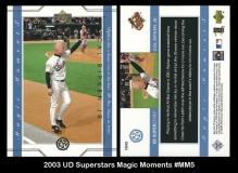 2003 UD Superstars Magic Moments #MM5