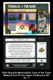 2004 Absolute Memorabilia Tools of the Trade Material Five PS Las Vegas Conference #23