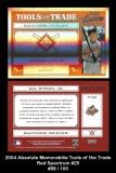 2004 Absolute Memorabilia Tools of the Trade Red Spectrum #25