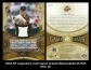 2004 SP Legendary Cuts Game Graphs Memorabilia 25 #CR