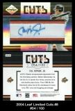 2004 Leaf Limited Cuts #8
