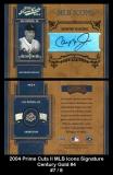 2004 Prime Cuts II MLB Icons Signature Century Gold #4