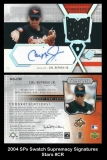 2004 SPx Swatch Supremacy Signatures Stars #CR