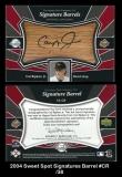 2004 Sweet Spot Signature Barrel #CR