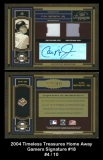 2004 Timeless Treasures Home Away Gamers Signature #18