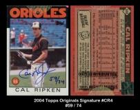 2004 Topps Originals Signature #CR4