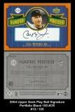2004 Upper Deck Play Ball Signature Portfolio Black 100 #CR