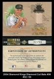 2004 Diamond Kings Diamond Cut Bats #38
