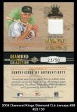 2004 Diamond Kings Diamond Cut Jerseys #38