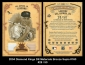 2004 Diamond Kings DK Materials Bronze Sepia #160