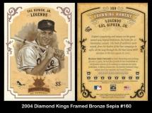2004 Diamond Kings Framed Bronze Sepia #160