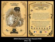 2004 Diamond Kings Hawaii #160