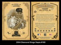 2004 Diamond Kings Sepia #160