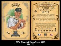 2004 Diamond Kings Silver #160