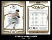 2004 Donruss Classics #154
