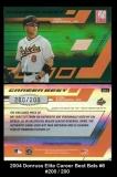 2004 Donruss Elite Career Best Bats #6