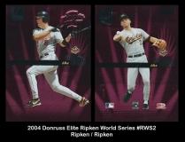2004 Donruss Elite Ripken World Series #RWS2