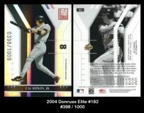 2004 Donruss Elite #182
