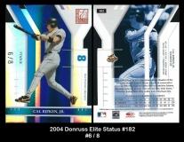 2004 Donruss Elite Status #182