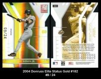 2004 Donruss Elite Status Gold #182