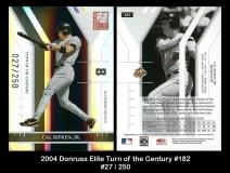 2004 Donruss Elite Turn of the Century #182