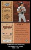 2004 Donruss World Series Legends of the Fall #3