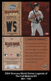 2004-Donruss-World-Series-Legends-of-the-Fall-Material-3