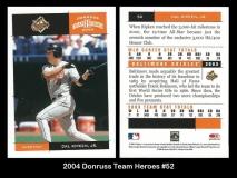 2004 Donruss Team Heroes #52