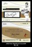 2004 Flair Significant Cuts #CR