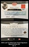 2004-Leaf-Certified-Cuts-Signature-Material-Green-8