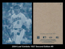 1_2004-Leaf-Exhibits-1927-Second-Edition-9