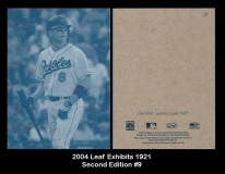 2004 Leaf Exhibits 1921 Second Edition #9