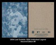 2004 Leaf Exhibits 1926 Unblocked Legend Second Edition #9