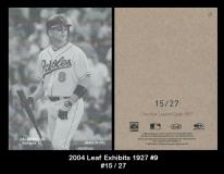 2004 Leaf Exhibits 1927 #9