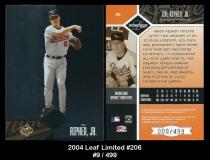 2004 Leaf Limited #206