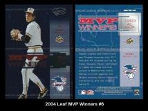 2004 Leaf MVP Winners #6