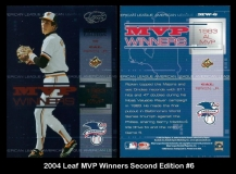 2004 Leaf MVP Winners Second Edition #6