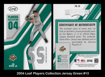 2004-Leaf-Players-Collection-Jersey-Green-13