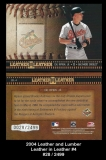 2004 Leather and Lumber Leather in Leather #4