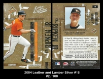 2004 Leather and Lumber Silver #18