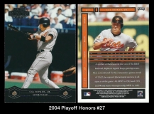 2004 Playoff Honors #27