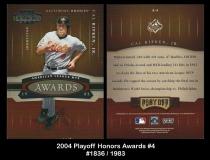 2004 Playoff Honors Awards #4