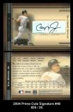 2004 Prime Cuts Signature #48