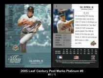 2005 Leaf Century Post Marks Platinum #8