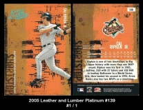 2005 Leather and Lumber Platinum #139