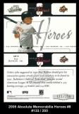 2005 Absolute Memorabilia Heroes #8