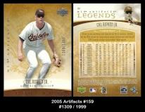 2005 Artifacts #159