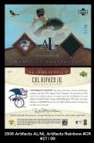 2005 Artifacts AL NL Artifacts Rainbow #CR